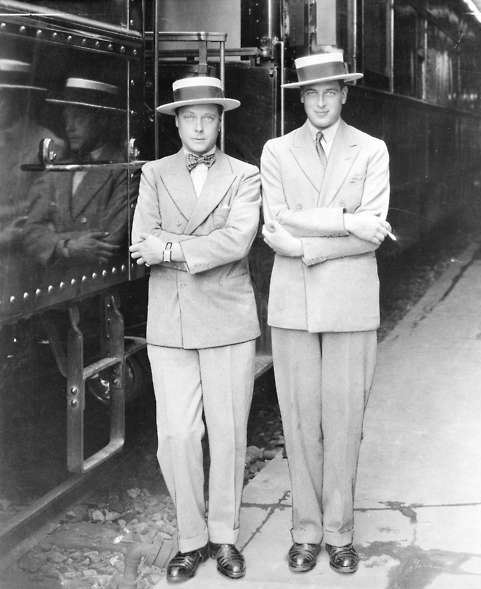 The Duke of Kent and the Duke of Windsor