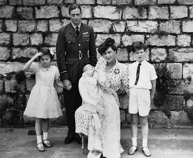 A family photograph of the Kents taken only weeks before the Duke's death